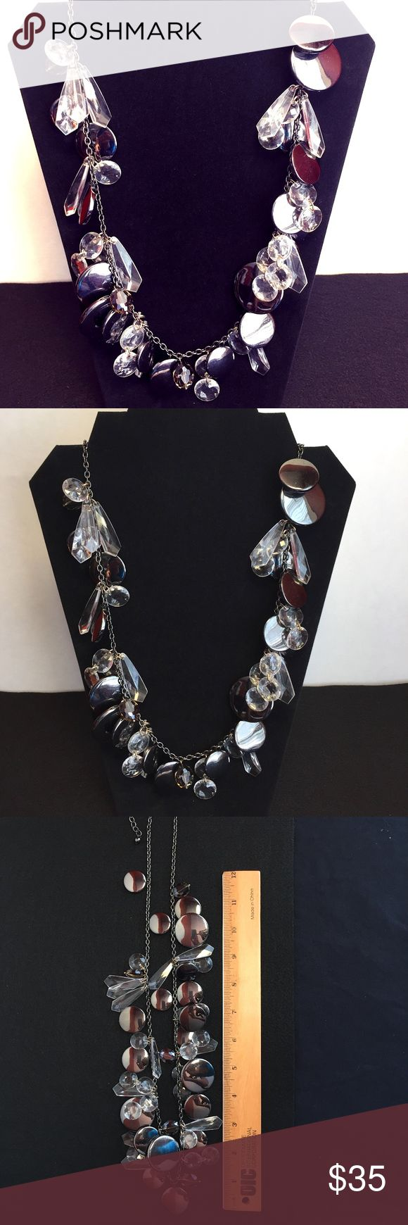 """Joan Rivers Faceted Chunky Statement Necklace From Joan Rivers Classics Collection! Includes a signed Joan Rivers charm. Go for all-out gorgeous by finishing your look with this stunning necklace!  Necklace measures 35"""". Joan Rivers Jewelry Necklaces #classicalvintagejewelry"""