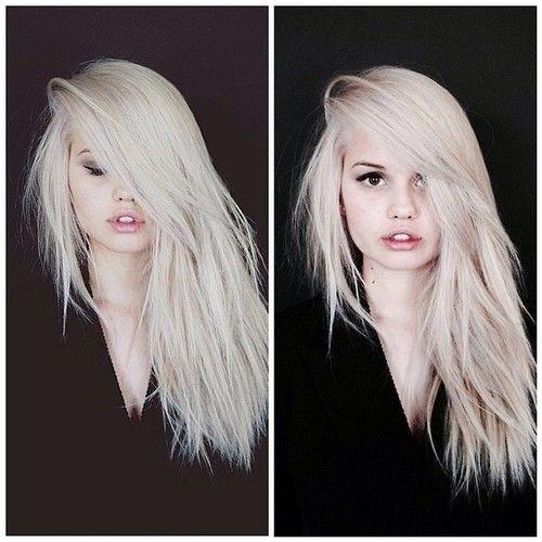 Love Debby Ryan's platinum blonde hair