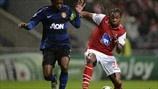 Patrice Evra (Manchester United FC) Alan & (SC Braga)   Braga 1-3 Man. United. 07.11.12.