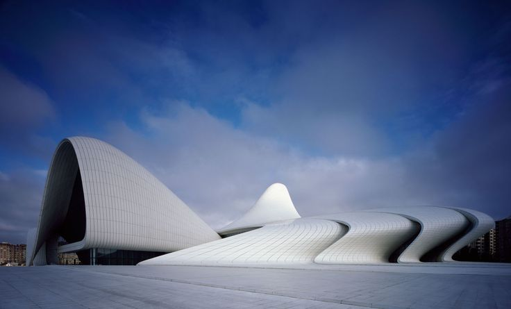 Zaha Hadid Architects, Hufton + Crow, Hélène Binet · Heydar Aliyev Center · Divisare