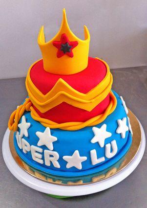 Torta Mujer Maravilla