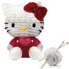 hello kity en tricot