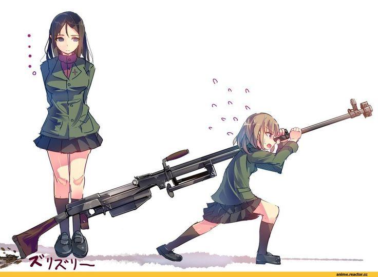 Katyusha,Girls und Panzer,Anime,Аниме,Nonna,daito,Anime Art,Аниме арт, Аниме-арт