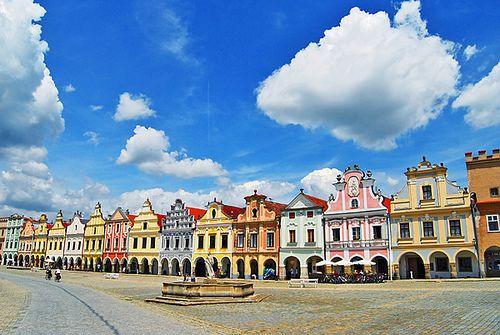 Telc - Telc, Moravia, Czech Republic Such a beautiful place