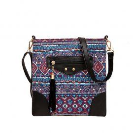 Vintage Leather Handbags Women Retro Envelope Clutches Ladies Party Purse