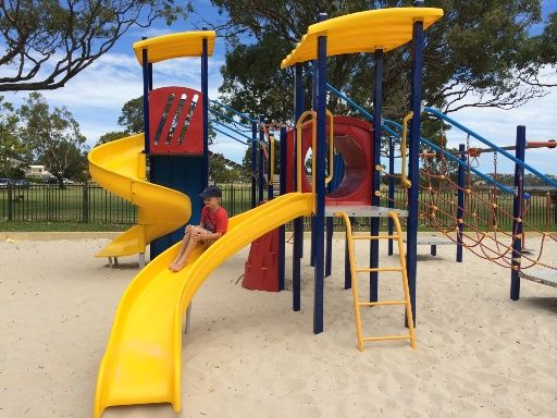 Tompkins Park Lucky Bay Applecross. Find out how far this playground is from your current location and get a map to take you there with the Kids Around Perth app available from Google Play or the App Store