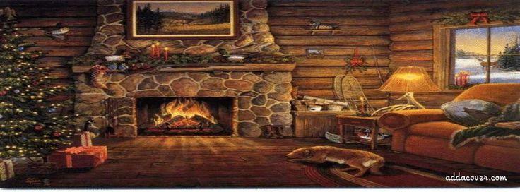 Cozy Christmas Fireplace