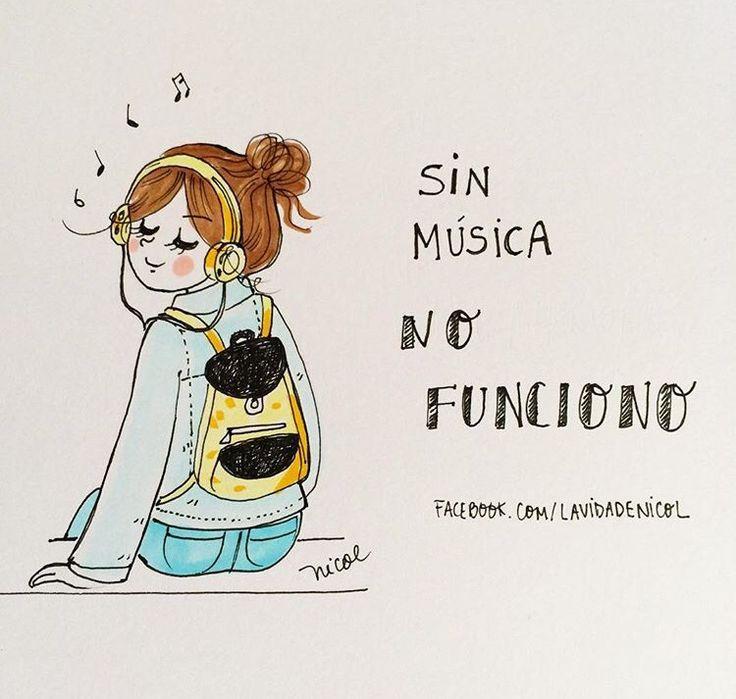 Sin música NO FUNCIONO @lavidadenicol