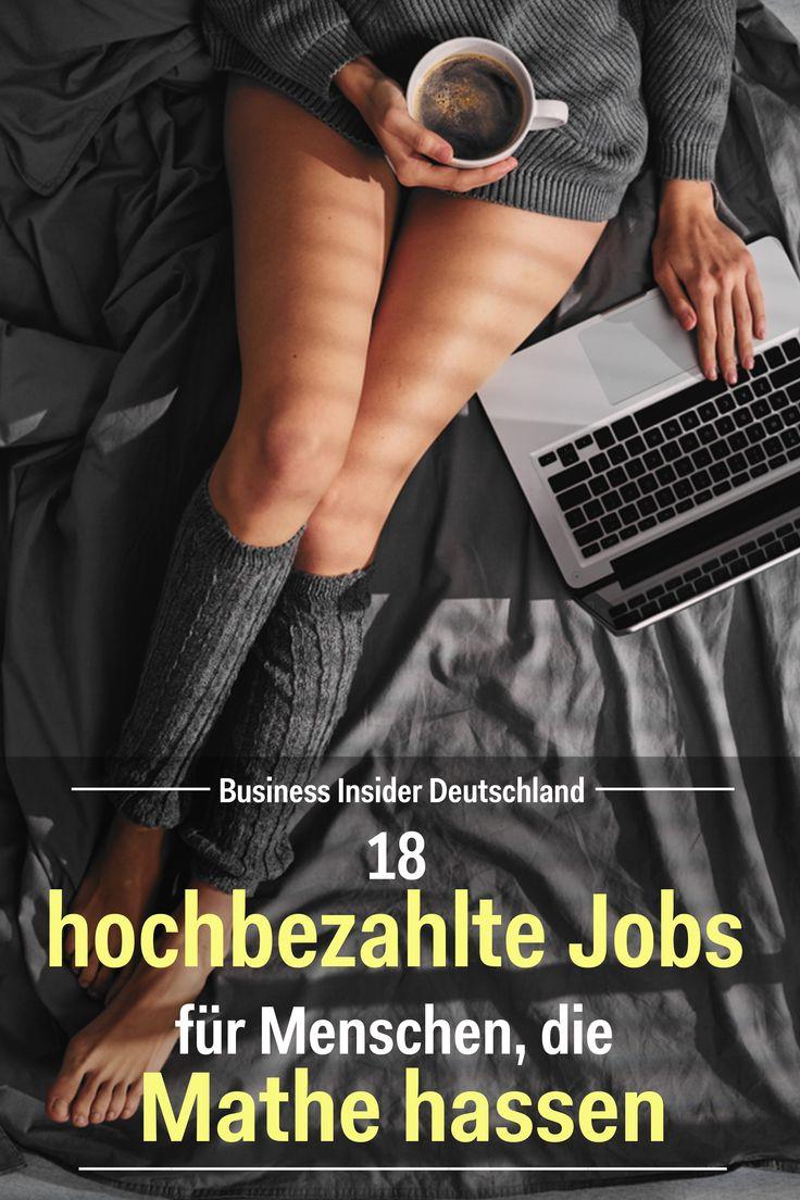 18 hochbezahlte Jobs für Menschen, die Mathe hassen – Business Insider Deutschland