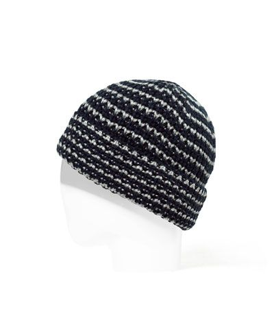 Image 1 of STRIPED KNITTED HAT from Zara