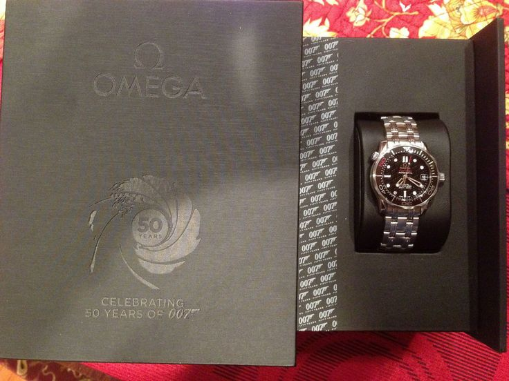OMEGA 007 50th Anniversary Seamaster Watch