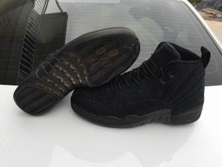 $185 Air jordan 12 OVO black Contact:whatsApp:+86 18250528609 Email:fadkicks@hotmail.com