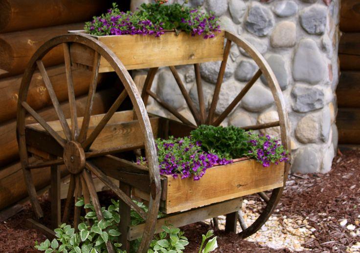 Ideias recicladas para o jardim                                                                                                                                                                                 Mais