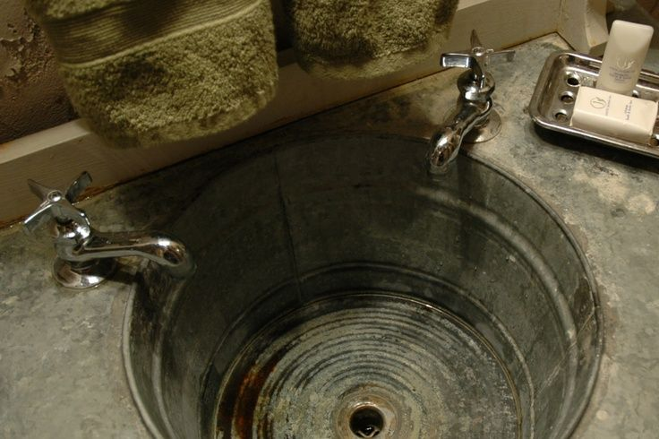 build a rustic concrete sink and counter - Google Search