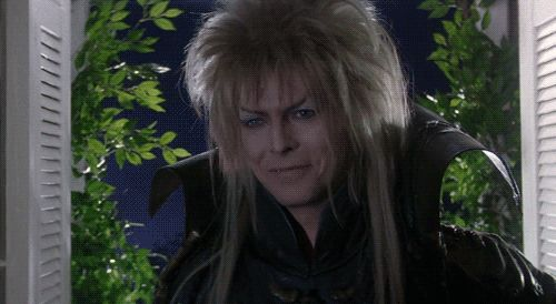 "25 Perfect GIF Reactions From Jareth From ""Labyrinth"""