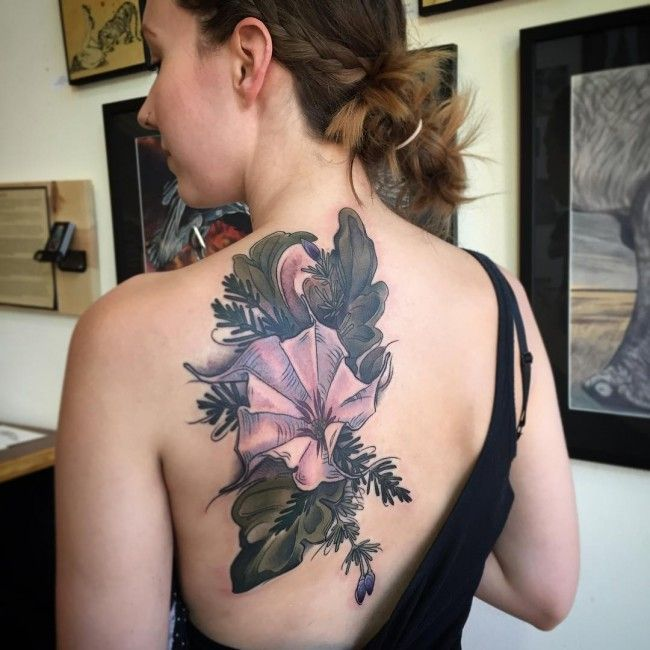200 Most Beautiful Flower Tattoos And Their Meanings Check more at https://tattoorevolution.com/flower-tattoos/