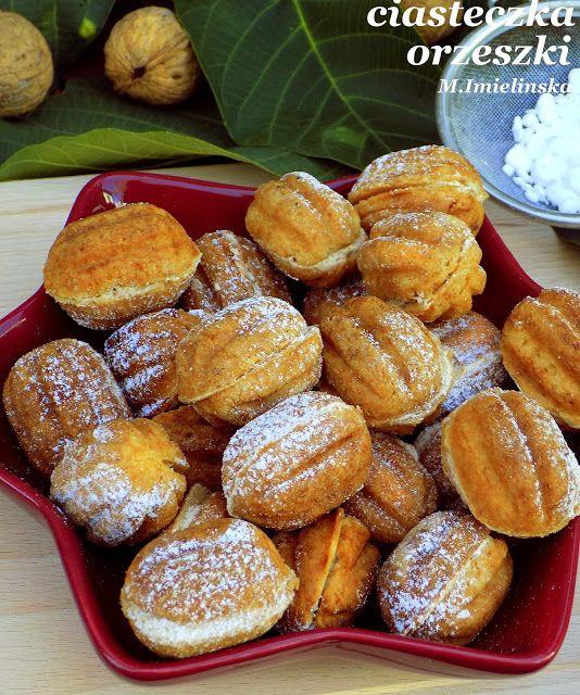 Domowa Cukierenka - Domowa Kuchnia: ciasteczka orzeszki