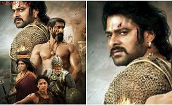Baahubali 2 poster: Prabhas and Rana Daggubati's bloody avatars will make you desperate for the film. See pic
