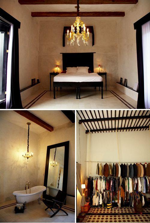 nicolas malleville's & francesca bonato's hotel in tulum, mexico | THE STYLE FILES