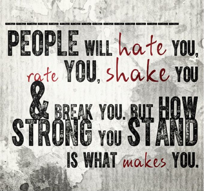 Quotes About People Who Hate You People Hate About You ...