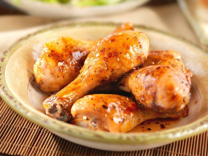Prepara Este Jugoso Pollo Horneado Con Salsa De Miel Y Mostaza Receta Fácil Recetas De Pollo Al Horno Pechuga De Pollo En Salsa Miel Y Mostaza