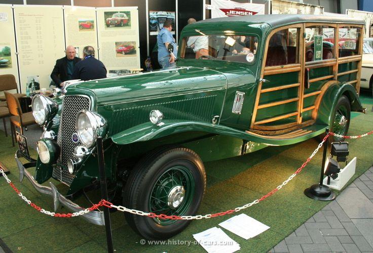 1935-jensen-v8-woodie   CLASSIC WOODIES (CARS)   Pinterest ...