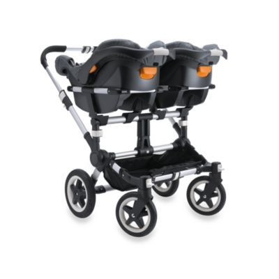I think this would be ideal for babies and then use a stroller when they get bigger. I want it! buggaboo donkey chico twin carseat adapter. $80