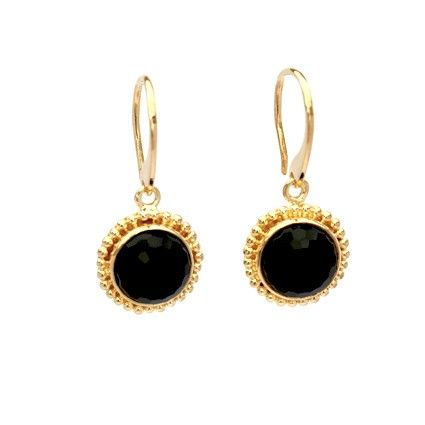 Gypset Black Onyx Earrings  www.katemccoy.com