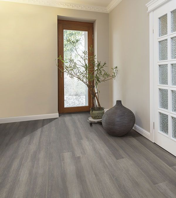 FSC 100% Stone Grey Bamboo Flooring   Strand Woven For Extra Strength