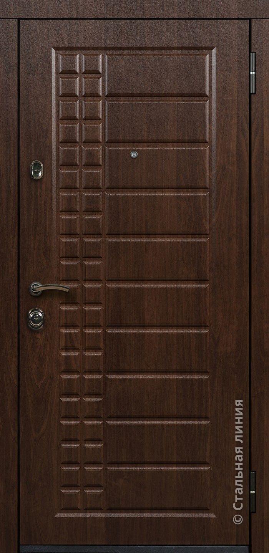 Входные двери Стальная линия Орландо Уличная г. Гомель Входные двери Стальная линия Orlando 80U.01.02.AvCh - белорусские Могилевские двери. Цена, Фото.