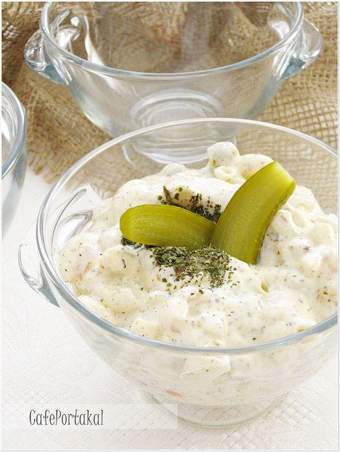 CAFE PORTAKAL: Garnitürlü Makarna Salatası