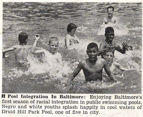 Baltimore Let Blacks Into Public Swimming Pools For First Time Jet Magazine July 19 1956 By