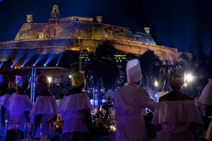 El Castillo de San Felipe fue el escenario perfecto para la gran celebración  que recibió a los presidentes, participantes de las reuniones simultáneas a la cumbre y periodistas.