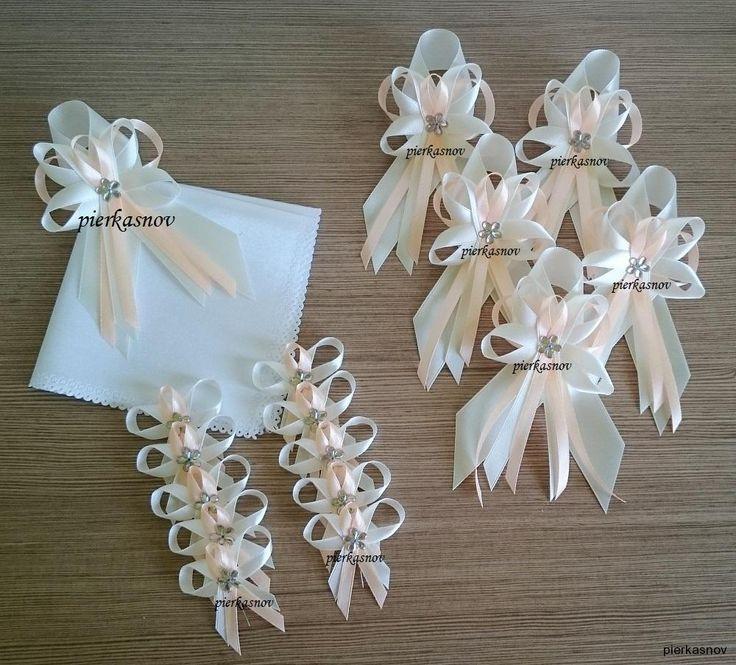 svadobné pierka krémová - marhuľková