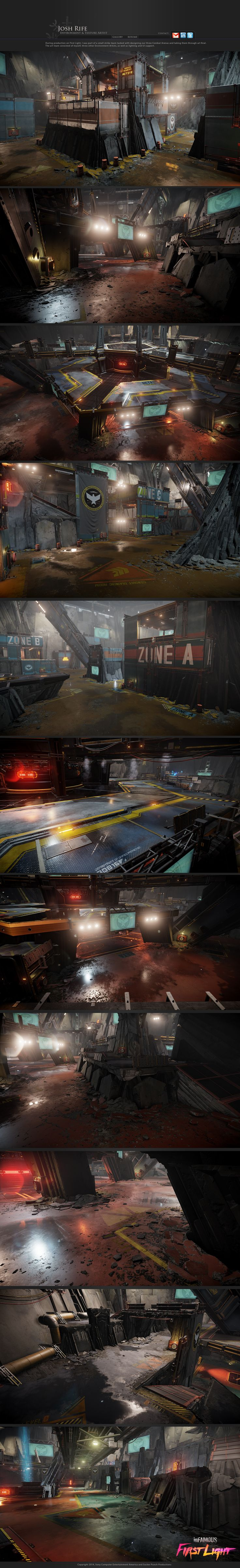 inFAMOUS: First Light art dump - Polycount Forum