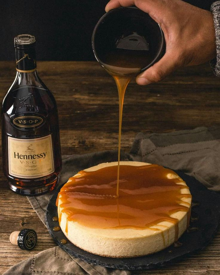 Hennessy Cognac Cheesecake                                                                                                                                                                                 More