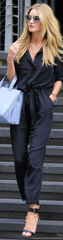 Street Style | Rosie Huntington