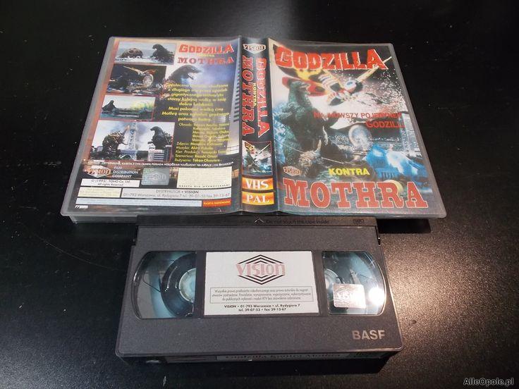 """GODZILLA KONTRA MOTHRA - kaseta Video VHS - 1412 Sklep """"ALFA"""" Opole - AlleOpole.pl (Opole)"""
