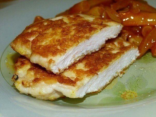 Самые вкусные рецепты: Куриные отбивные под хрустящей сырной корочкой