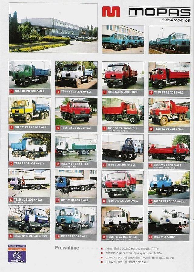 Prospekt vozidel TATRA - 2. str
