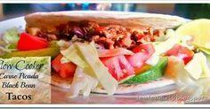 Lou Lou Girls : Slow Cooker Carne Picada Black Bean Tacos