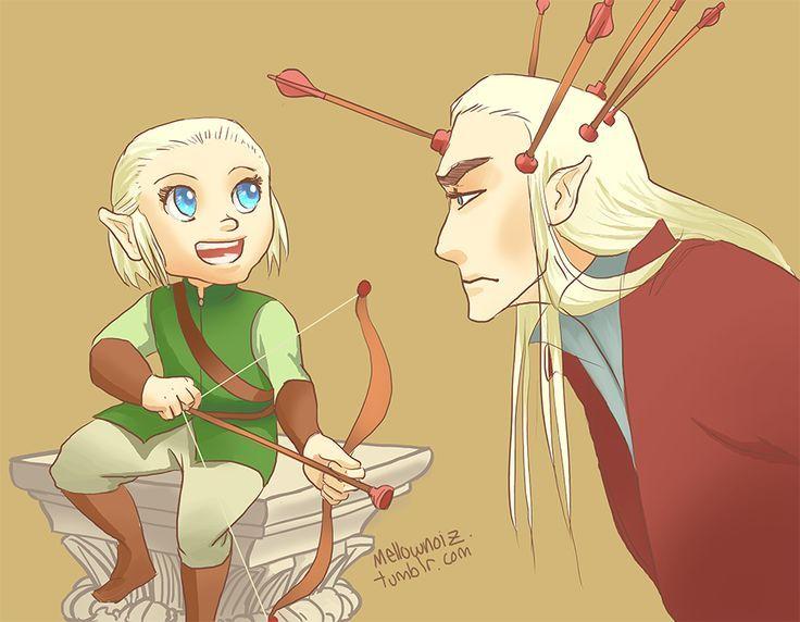 Mejores 42 imágenes de Thranduil and Legolas <3 en Pinterest ...