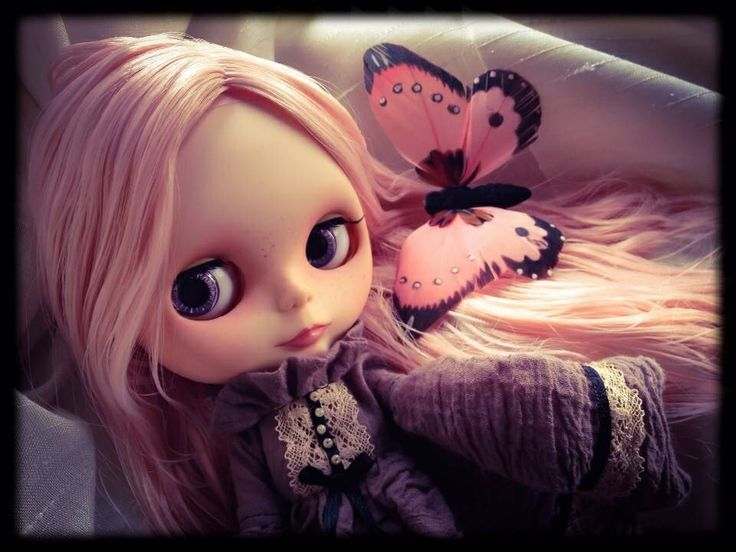 Blythe customized by me