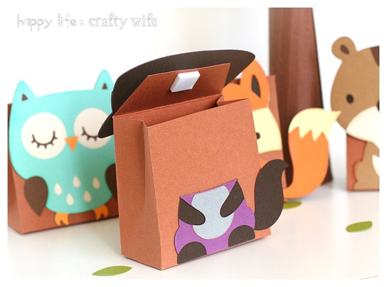 template - free printable for the boxes. great idea - even though I don't have a cutting type macine