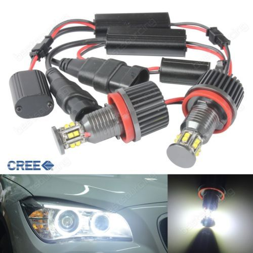 Bmw cree led #angel eyes 120w halo #light h8 bulb e82 e90 e92 e60 e61 e63 e84 e8,  View more on the LINK: 	http://www.zeppy.io/product/gb/2/371802744181/