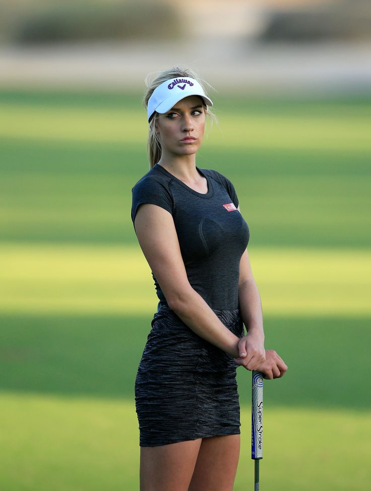 Paige Spiranac's Pro Debut In Dubai - Golf Digest