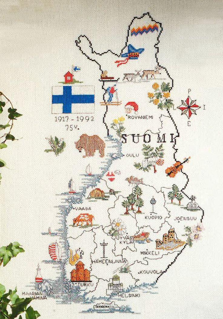 Kirjo Suomen kartta | Kodin Kuvalehti