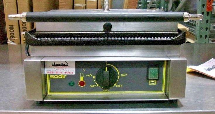 Equipex Panini Commercial Electric Panini Press/ Sandwich Grill  #Equipex