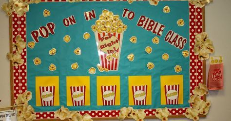 """New Attendance Charts---The KIDDOS will be able to """"POP"""" on in to Bible Class for the NEXT Quarter.   I thought this would be a FUN wa..."""