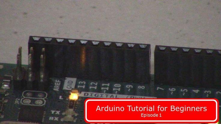 Simple arduino tutorial for beginners.
